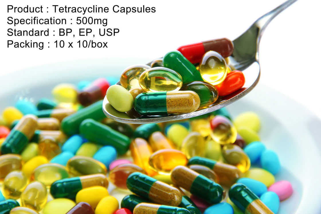 Tetracycline Capsules 500mg Oral Medications