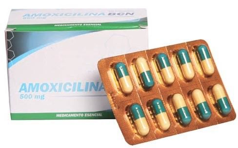 Amoxicillin Tablets 500mg Semisynthetic Antibiotic Drug Resistant Bacteria