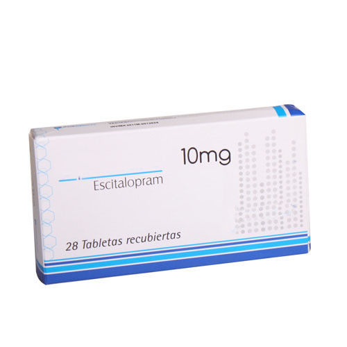 Anti Depressant Drugs Oral Medications Escitalopram Oxalate Tablets 10 mg