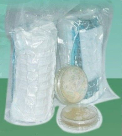 Laboratory Disposable Sterility Test Kit Prefilled Floating Bacteria Plate